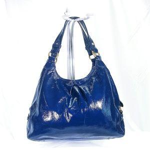 💕Coach Patent Leather Shoulder Handbag